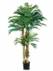 Set of 2 - 6' Artificial Phoenix Palm Trees