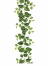 6' Artificial Puff Pothos Garland - Set of 4