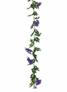 6' Artificial Wisteria Garland Strand - Set of 12