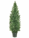 6' Cedar Pine Artificial Tree Indoor / Outdoor