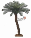 6' UV Protected Outdoor Artificial Palm Tree