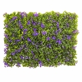 6� x 6� Purple & Green Clover Mat (Set of 12)