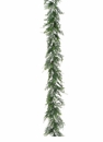 "66"" Artficial Cedar Holiday Garland in Two Tone Green Shading -Set of 6"
