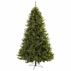 7.5' Majestic Multi-Pine Christmas Tree w/Clear Lights