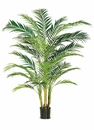 7' Artificial Areca Palm Tree in Weighted Base - Individual Tree