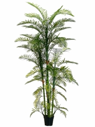7' Artificial Areca Palm Tree - Indoor/Outdoor