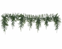 7' Artificial Cedar Icicle Garland  with 522 Needles - Set of 2