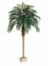 Set of 2 - 7' Artificial Palm Trees