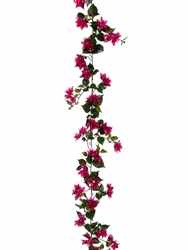 "72"" Silk Bougainvillea Garland Strand - Set of 6"