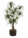 8' ARTIFICIAL YUCCA TREE X 12 STALKS IN PLANTER