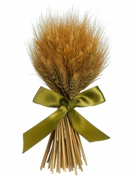 "9.8"" Preserved Wheat Grass Artificial Standing Bouquet - Set of 6"