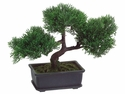 "9"" Artificial Cedar Bonsai Tree"