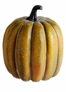 "9"" Artificial Weighted Pumpkin  - Set of 6 (shown in Green/Orange)"