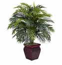 "38"" Areca with Decorative Planter Silk Plant"