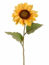 Artifical Silk Sunflower Spray Stems - Set of 12