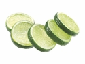 "Artificial 2"" Lime Slices (5 ea./bag)"