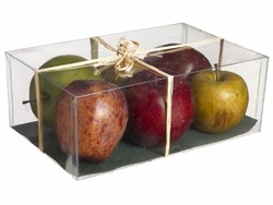Artificial Assorted Weighted Apples (6 ea./6 boxes)
