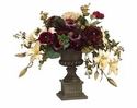 Artificial Calla Lily, Hydrangea Flower Arrangement in Urn