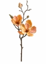 "19"" Artificial Magnolia Flower Spray Stem-Set of 12"