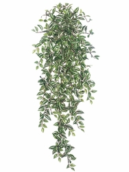 "51"" Artificial Medium Wandering Jew Hanging Bush - Set of 6"
