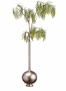 Artificial Modern Acacia Trio Arrangement in Metal Containers - Assorted 3 Syles you Receive - See Additional Image Tab for All 3