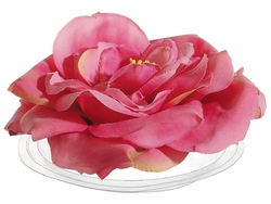 Artificial Silk Floating Rose - Set of 12
