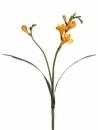 Artificial Silk Freesia Spray Stem-Set of 12