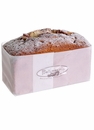 Artificial Sugared Loaf Cake with Nuts - Set of 6