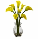 Classic Calla Lily Arrangement - Yellow