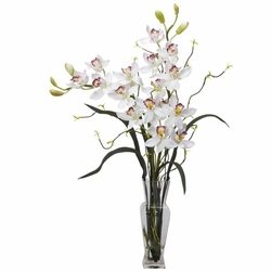 "30"" Cymbidium Silk Flower Arrangement"