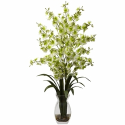 "25"" Dancing Lady Orchid w/Vase Arrangement"