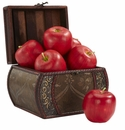 "3.5"" Artificial Apples (Set of 6)"