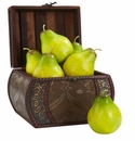 Artificial Pears (Set of 6)