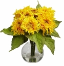 Golden Sunflower Arrangement