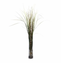 "47"" Grass & Bamboo with Cylinder Artificial Plant"