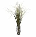 "46"" Grass & Bamboo with Large Jar Artificial Plant"