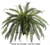 Large 41 inch Artificial Fishtail Fern Bush - Non Potted