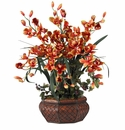Large Cymbidium Silk Flower Arrangement
