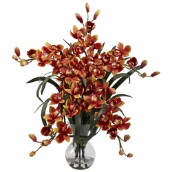 "34"" Large Cymbidium w/Vase Arrangement"
