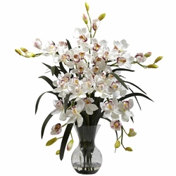 Large Cymbidium w/Vase Arrangement