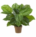 "27"" Large Leaf Philodendron Silk Plant (Real Touch)"