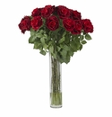 Large Rose Silk Flower Arrangement