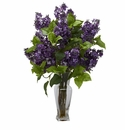 Lilac Silk Flower Arrangement