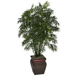 "45"" Mini Bamboo Palm with Decorative Vase"