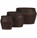 Oval Decorative Planter (Set of 3)