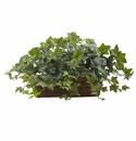 "12.5"" Artificial Puff Ivy withLedge Basket"