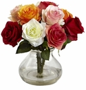 Rose Arrangement w/Vase