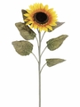 "Set of 12 - 40"" Giant Silk Sunflower Sprays"