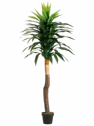 Set of 2 - 5' Artificial Yucca Trees