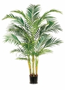 Set of 2 - 6' Artificial Areca Palm Trees